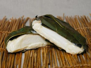 Robiola Cheese Wrapped in Fig Leaf