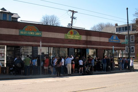Formaggio Kitchen BBQ: the line!