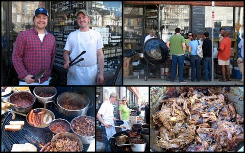 Formaggio Kitchen BBQ: the people