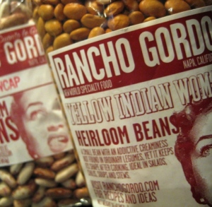 Rancho Gordo Yellow Indian Woman Heirloom Beans