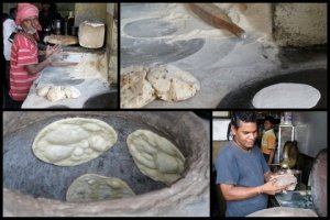 Bread-making in Khari Baoli