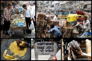 Khari Baoli market in Delhi