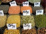 Lentils in Khari Baoli market
