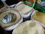 Rice in Khari Baoli market