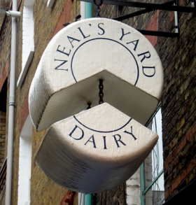 Neal's Yard Dairy Covent Garden Shop