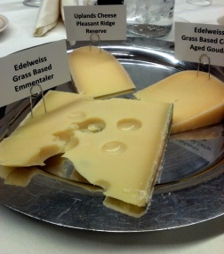 Uplands' Pleasant Ridge Reserve and Edelweiss' Gouda & Emmentaler