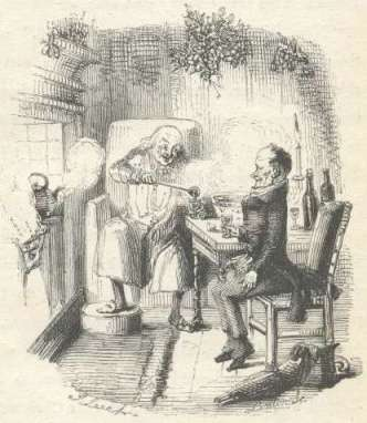 A Christmas Carol: Scrooge and Bob Cratchit