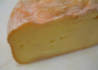 Dorset, a washed-rind cheese from Vermont's Consider Bardwell Farm