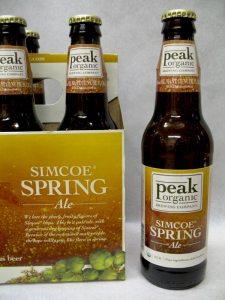 Peak Organic Simcoe Spring Ale