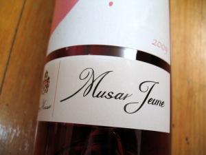 Château Musar, Musar Jeune, 2009