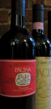 Pacina Wine Labels