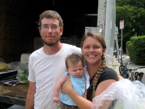 Sparrow Arc Farm - Matthew, Heather and Louisa Linehan