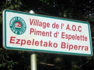 Piment d'Espelette AOC Pepper Village