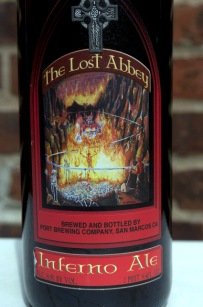 The Lost Abbey - Inferno Ale - Label