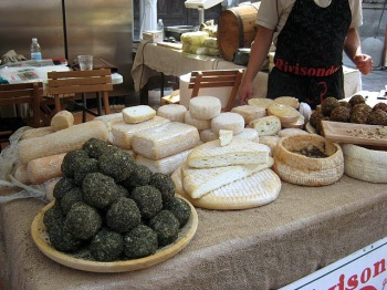 Cheeses On Display in Bra