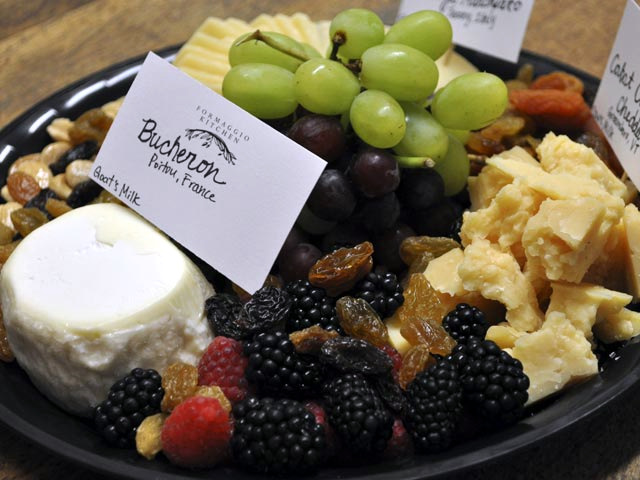 Cheese Platter - This signature platter features traditional cheeses ...