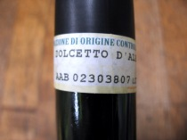 Roagna Dolcetto PDO Label