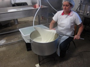 Stretching the Mozzarella Curd