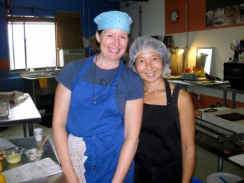 Elaine and Catharine of EH Chocolatier