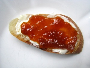 Burro 1889 from Le Fattorie Fiandino and Apricot Jam on Toast