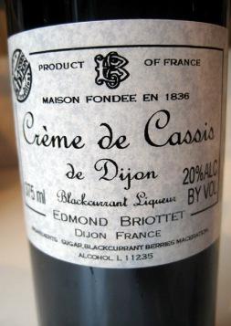 Briottet Crème de Cassis