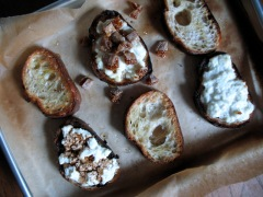 Ricotta Toasts