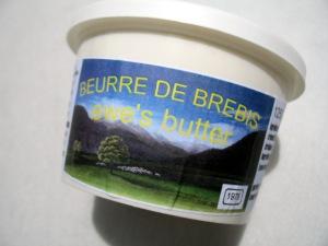 Beurre de Brebis