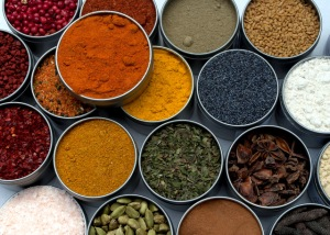A Selection of Our Spices