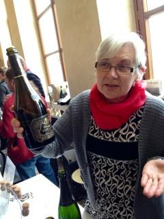 Madame Tarlant of Tarlant Champagne