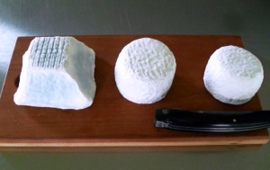 Ruggles Hill Creamery Cheeses - Ruggles Hill Creamery - Ellie's Cloudy Down, Ada's Honor, and Hanna's Awashed