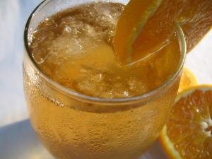 Iced Tea with Orange