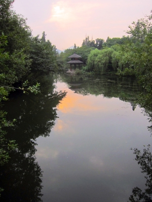 A Secluded Corner of West Lake