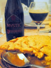Apple Caramel Cheese Pie with Mystic Descendant