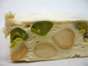 Sorelle Nurzia Soft Torrone with Almonds and Pistachios