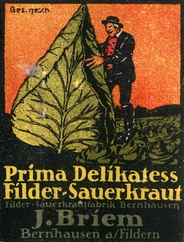 Filder-Sauerkraut Poster