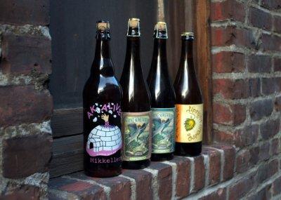 Domestic Beers: AK Alive, Saison 7, Saison Athene and Lectio Saison