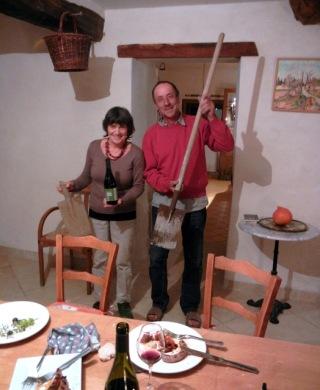 Jean and Martine David