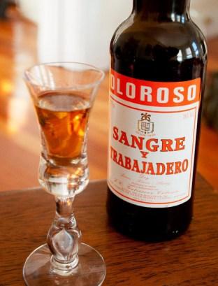"""""""Sangre y Trabajadero"""" Oloroso Sherry - Bodega Gutierrez Colosia"""
