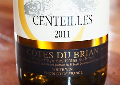 Clos Centeilles Côtes du Brian Blanc