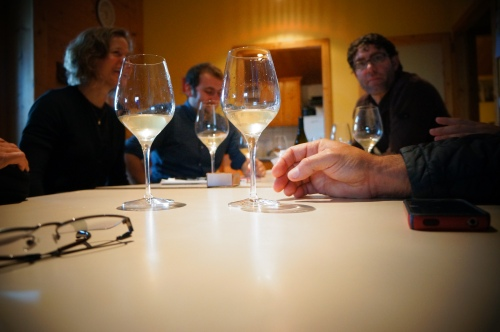 The Business of Wine - Business does not happen unless there is wine! Here, we discuss our order over exquisite wines Philippe, General Manager of Marcel Petite, and Ihsan's dear friend, has chosen for us.