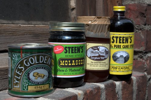 Syrups - Lyle's Golden Syrup, Steen's Molasses, Muddy Pond Sorghum and Steen's Cane Syrup