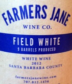 Farmers Jane Field Blend White - Back Label
