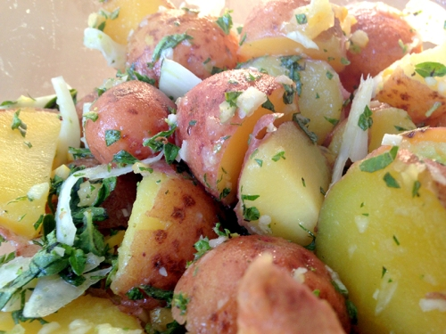 Fennel and Potato Salad