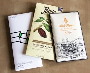 Three Craft Chocolates
