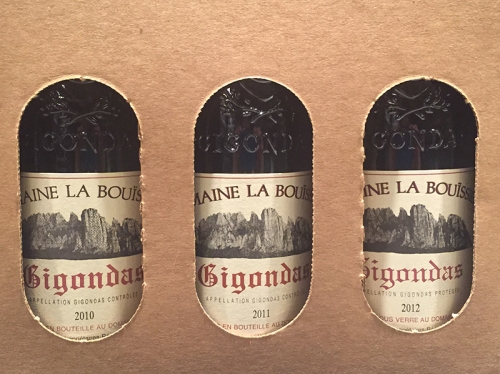 Three Vintages from Gigondas
