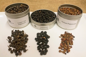 Comet's Tail, Tasmanian and Sichuan Peppercorns